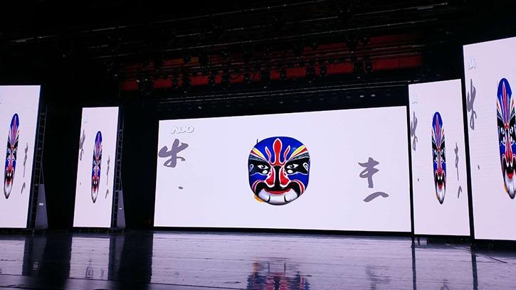 舞台背景LED屏方案